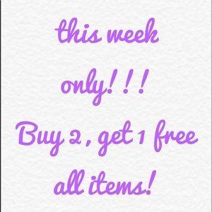 Handbags - Buy 2, get 1 free!